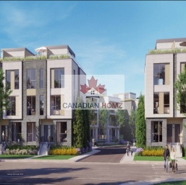 Town-House Pre-Construction In Toronto , ,Town-House,Pre-Construction,168 Clonmore Drive
