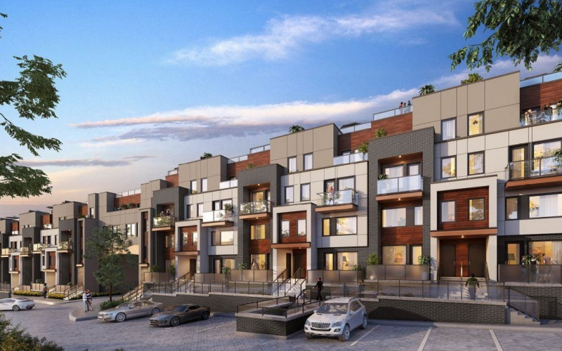 Town-House For Sale In Toronto , ,Town-House,For Sale,1455 O'Connor Drive