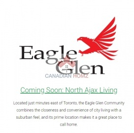 Single Family Homes Coming Soon In Ajax , ,Single Family Homes,Coming Soon,north of Rossland Road West, east of Church Street