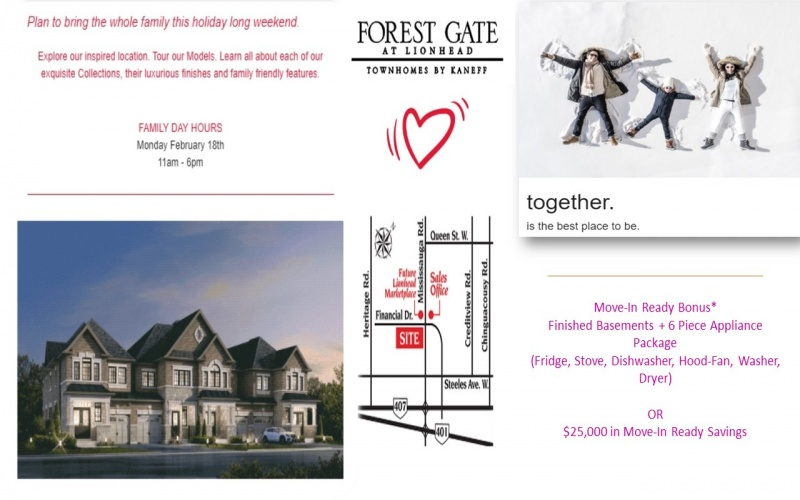 Town-House Pre-Construction In Richmond Hill , ,Town-House,Pre-Construction,Yonge Street & Bloomington Road
